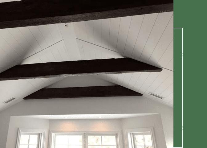 construction de plafond